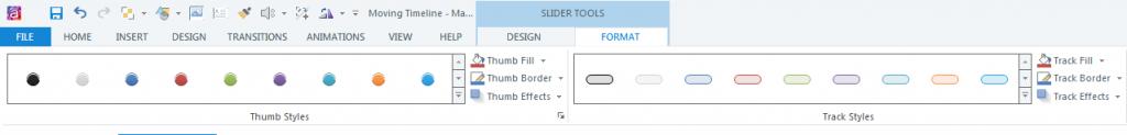Slider Tools_Format