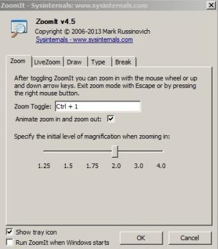 ZoomIt window